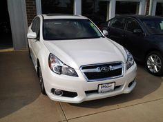 2014 Subaru Legacy in Satin White Call 360-943-2120 ext. 151 Gary Atkins Hanson Motors