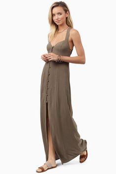 Less Conversation Maxi Dress at Tobi.com #shoptobi