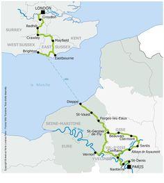 Avenue Verte cycling - London to Paris http://www.mcjpost.it/index.php/da-parigi-a-londra-e-ritorno-in-bicicletta-sulla-avenue-verte/