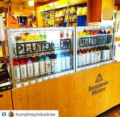 """** NYC ** """"Psyched to see Plutonium™ Paint available on 6th Ave (Spring Street) at Janovic Paint & Decorating Center."""" ★ ---> *Available at all 11 JANOVIC locations* #PlutoniumPaint #SprayPaint #MadeInTheUSA"""