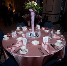 Pink Tie Gala For T Cancer Pretty Decorations