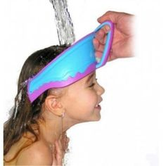 Styling Tools Humor 2pcs Safe Shampoo Shower Bathing Bath Protect Soft Cap Hat For Baby Wash Hair Shield Bebes Children Bathing Shower Cap Hat Kids