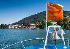 mit der Bayerischen Seenschifffahrt über den Tegernsee
