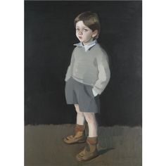 Artwork by Alexander Goudie, Lachlan, Made of oil on canvas