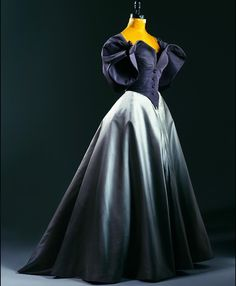 """Evening dress, by Charles James, ca. 1958 Phoenix Art Museum """
