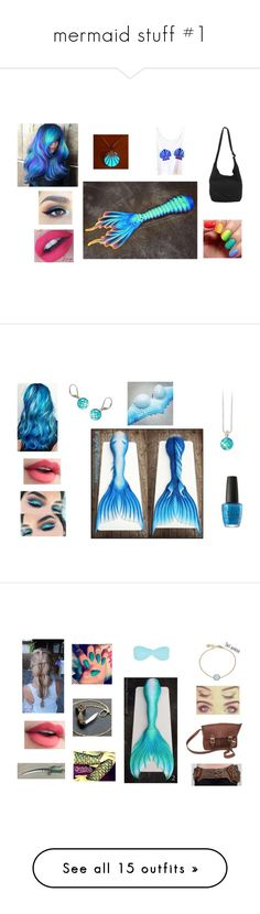 """mermaid stuff #1"" by cjfulmer ❤ liked on Polyvore featuring Disney, modern, OPI, NYX, NOVICA, Melissa Odabash, John Lewis, INC International Concepts, LULUS and Charlotte Tilbury"