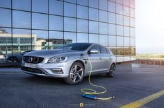 https://flic.kr/p/E3pppM | Volvo V60 Plug-In Hybrid | A hybrid, an electric vehicle, a diesel family car and a 285hp AWD monster...