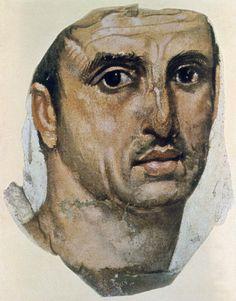 Portret męski ok. 100 n.e. FAJUM