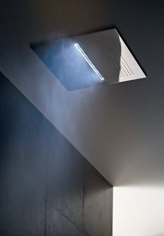 ACQUA ZONE: Ceiling Shower Head With Rain And Waterfall. ACQUA ZONE DREAM:  New Generation Ceiling Shower Head, With Electronic Controls And Six  Different ...