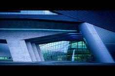 BMW Plant Central Building, Leipzig, Germany, 2005 Zaha Hadid