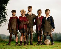 Soccer in the Mud