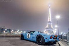 Paris + GT40