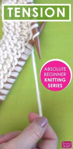Learn about knitting