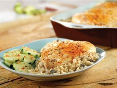 Get One Dish Chicken and Rice Bake Recipe from Food Network