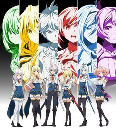 Anime Watch, All Anime, Me Me Me Anime, Anime Art, Anime Stuff, Anime Fantasy, Fantasy World, Saijaku Muhai No Bahamut, Otaku