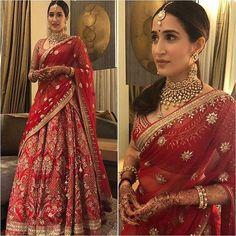 Designer Bridal Lehenga, Indian Bridal Lehenga, Indian Bridal Outfits, Indian Bridal Fashion, Indian Bridal Wear, Red Lehenga, Indian Designer Outfits, Indian Dresses, Bridal Dresses