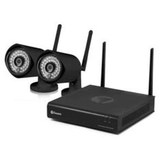 Sam's Club - Swann 4-Channel 1080p HD IP NVR Wireless Security System with 500GB Hard Drive and 2x 1080p Cameras