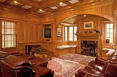 About Us : Davalos Cabinets & Millwork Dining Room Paneling, Cabinets, This Is Us, Mansions, Living Room, House Styles, Home Decor, Armoires, Decoration Home