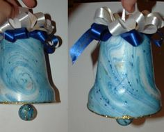 Christmas craft from plastic bottle photos1