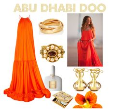 """Abu Dhabi Doo"" by marinarndfox ❤ liked on Polyvore featuring Sidney Garber, Tom Ford, STELLA McCARTNEY, Sarah Jessica Parker, Chanel, Aquazzura and Ultimate"