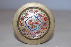 Weiteres - Antike bayrische Pillendose mit Vogelabdruck - ein Designerstück von VitaMonella bei DaWanda