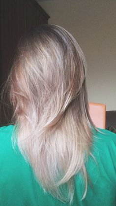 blonde balayage ombre.