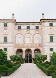 Intimate Italian Wedding At Villa Cetinale
