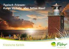 Föhr - Friesische Karbik . Typisch Friesen: Kein Verkehr aber fettes Navi - von Orange Cube Werbeagentur Hamburg