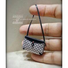 2017.08. Miniature Bag ♡ ♡ By My Dollhouse miniature