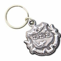 Sigma Sigma Sigma Crest Keyring SALE $12.95. - Greek Clothing and Merchandise - Greek Gear®