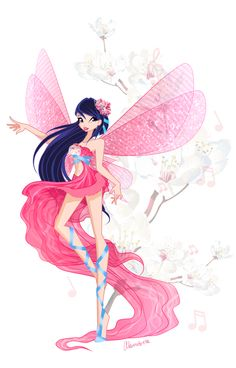 Winx Club Bloom Sirenix   Musa Sirenix by *alamisterra on deviantART