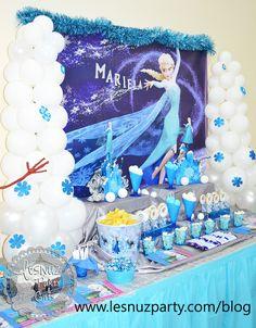 Mesa dulce Elsa Frozen - Sweet table