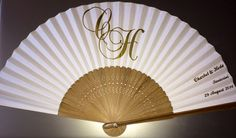 Personalised Wedding fans. Personalised wedding favours. Bespoke personalised fans for any and all occasions. Our prices, service and superior quality fans will not be beaten...No minimum order!   Visit my Etsy shop - https://www.etsy.com/uk/shop/CreateYourOwnFansUK or my website www.fanfairuk.co.uk