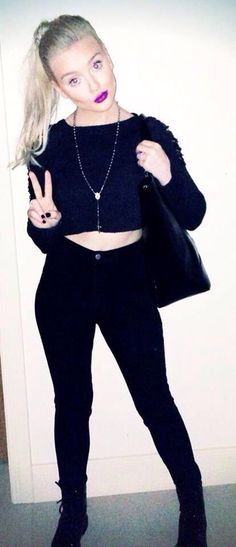 Perrie Edwards and The Ragged Priest Tatter Knit Little Mix Perrie Edwards, Ragged Priest, Woman Crush, Girl Crushes, American Apparel, My Girl, Fashion Beauty, Celebs, Celebrities