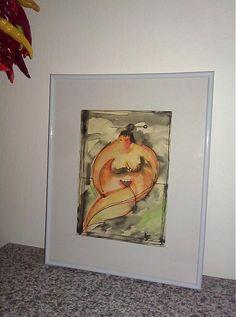jos24 / Tlstá Japonka Art For Sale, My Arts, Painting, Painting Art, Paintings, Painted Canvas, Drawings