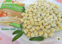 Gnocchi con fiocchi di patate ricetta base