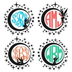 Pixie Fairy Round Circle Frames Monogram Cuttable Design Cut File. Vector, Clipart, Digital Scrapbooking Download, Available in JPEG, PDF, EPS, DXF and SVG. Works with Cricut, Design Space, Sure Cuts A Lot, Make the Cut!, Inkscape, CorelDraw, Adobe Illustrator, Silhouette Cameo, Brother ScanNCut and other compatible software.