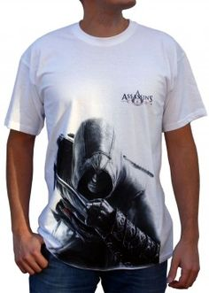 T-shirt Assassin's Creed Altaïr white