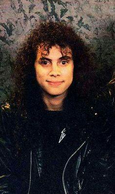 Metallica's angel Kirk Hammett