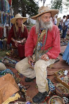 bead trader mountain man rendezvous