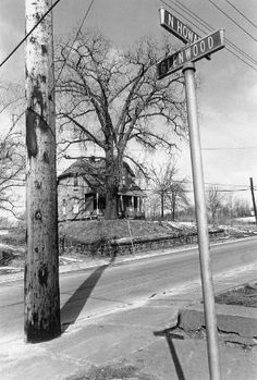 """Lee Friedlander Akron, OH Plate 36 from """"Factory Valleys"""" 1980 History Of Photography, Film Photography, Digital Photography, Street Photography, Lee Friedlander, Black White Art, Black And White Pictures, Classic Photographers, Architectural Photographers"""