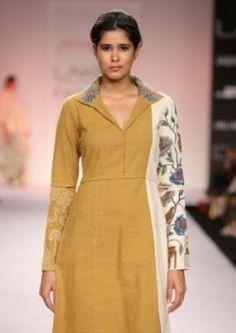 42 Collar Neck Designs For Blouse, Kurti, And Dresses Salwar Designs, Kurta Designs Women, Neck Designs For Suits, Blouse Neck Designs, Ethnic Fashion, Indian Fashion, Women's Fashion, Kurta Neck Design, Collar Kurti Design