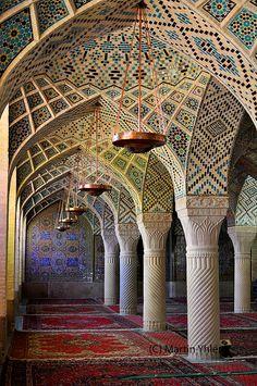 Iran, Shiraz, Masjed-e Nasir-al-Mulk (Nasir al-Mulk Mosque), Islamic Architecture | Flickr - Photo Sharing!