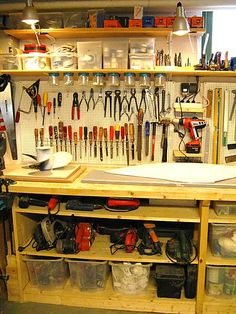 Bill is in the middle of this right now.... I think I'll print it out for him ;) garage organization...tools