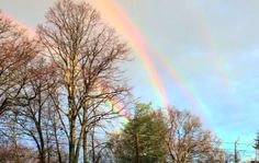 Multiple rainbows in NY! Multiple rainbows are a rarity... click to continue reading...