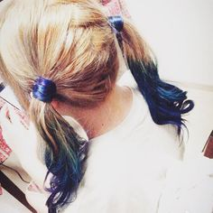 Mori Yuzuki @mori_yuzuki 友達の髪の毛を染...Instagram photo | Websta (Webstagram)