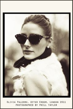 who doesn't love olivia palermo? Most beautiful fashionista of all Ray Ban Sunglasses, Cat Eye Sunglasses, Sunglasses Women, Round Sunglasses, Sunglasses Outlet, Sunglasses Online, Winter Sunglasses, Vintage Sunglasses, Sunglasses Shop
