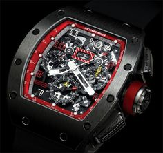 #Richard Mille Le Mans classic Chronograph in Red