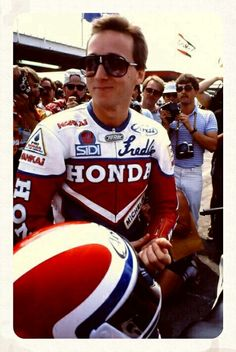 Fast Freddie Spencer - as of Sunday, he may no longer be the youngest champion ever