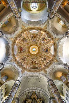 The Dresden Frauenkirche Sajonia,Germany